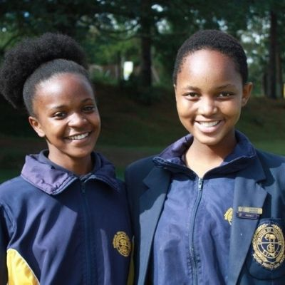 Greytown High Girls in Uniform