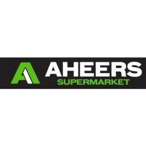 GHS Sponsor - Aheers Supermarket Logo